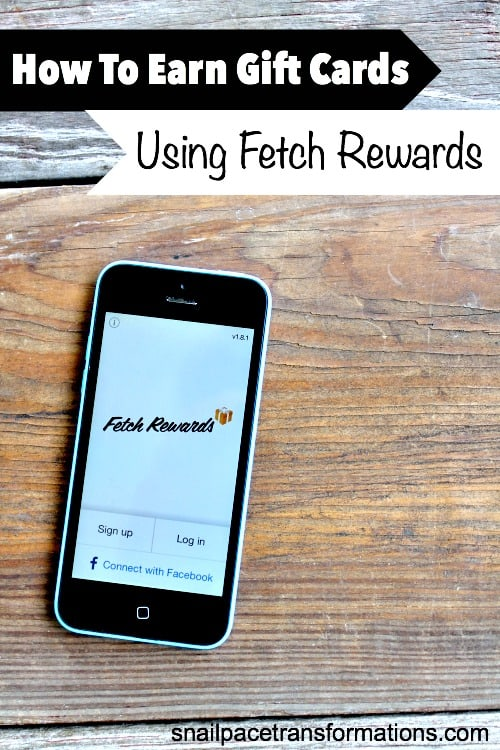 Use Fetch Rewards each time you go grocery shopping and earn gift cards. Such a simple way to earn cash back on your groceries.