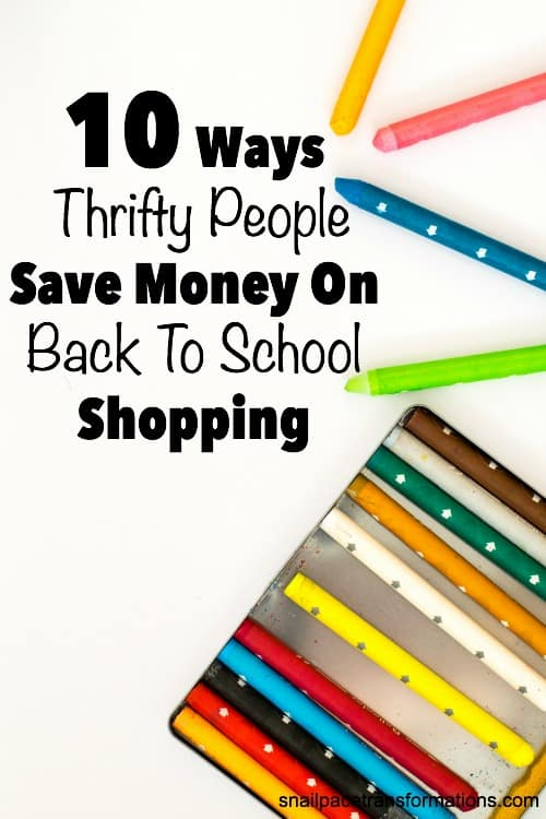 Save money on all your back to school shopping from school supplies to clothing needs.