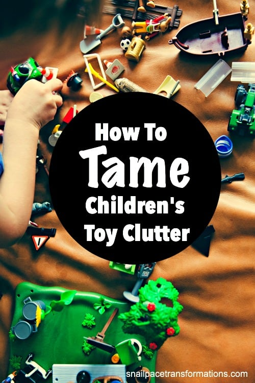 Get control of toy clutter with these organizing solutions. A step by step plan for kids' toy clutter that really works.