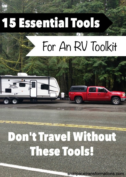 RV troubles never seem to happen where it is convenient, which is why having the right tools in your RV toolkit is essential.