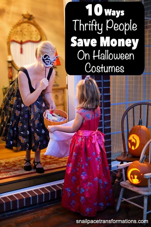 Learn how to save money on Halloween costumes for your entire family.