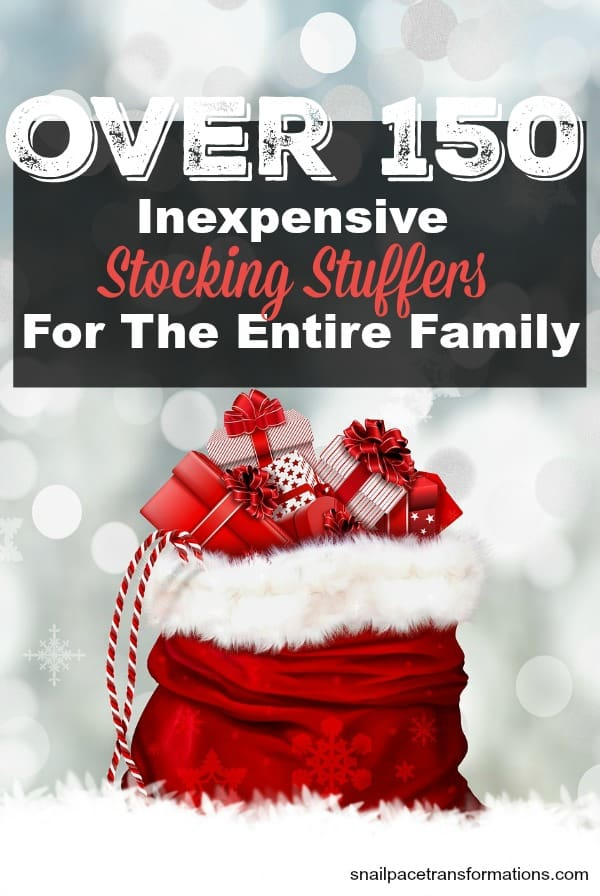 Inexpensive Stocking Stuffers For The Entire Family Over