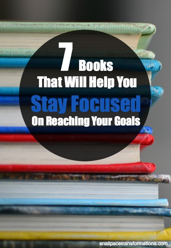 This list of books will help you stay focused on your goals. #goals #books