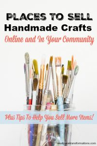 Places To Sell Handmade Crafts: Plus Tips To Help You Sell More Items!