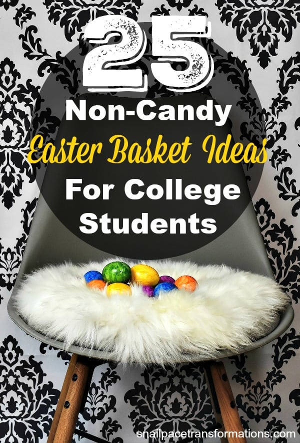 25 non candy easter basket ideas for college students negle Images