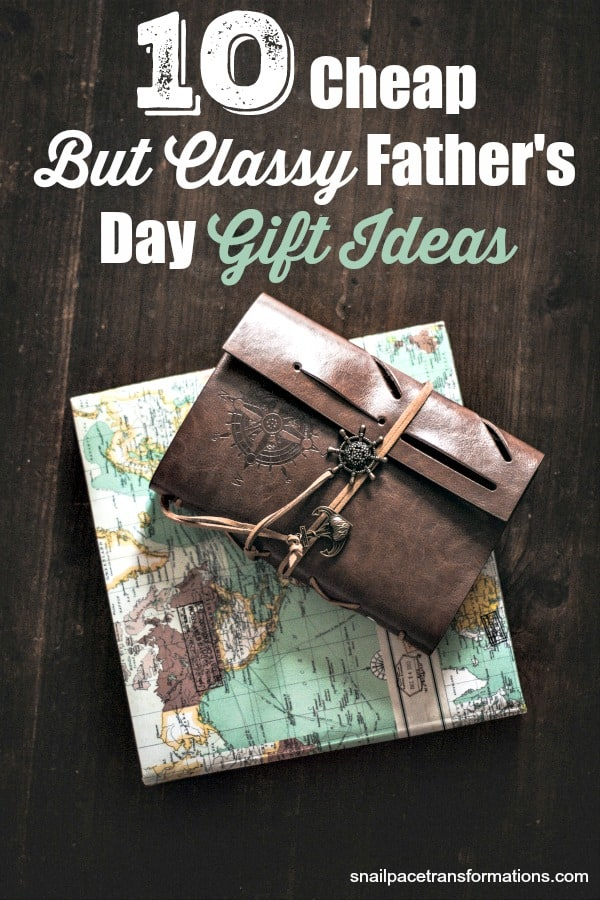 Get dad a great Father's Day gift this year even if your budget is small with these cheap but classy Father's Day gift ideas. #fathersday #giftsfordad