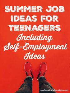Summer Job Ideas For Teenagers: Including Self-Employment Ideas