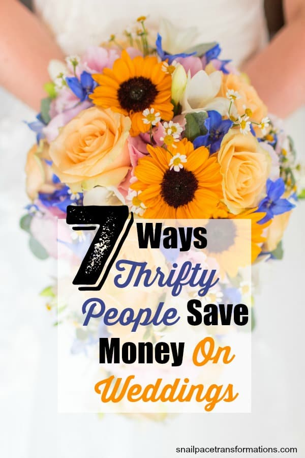 Learn ways to save money on your wedding. This couple spent just $1500 on their wedding--find out how. #weddings #weddingplanning