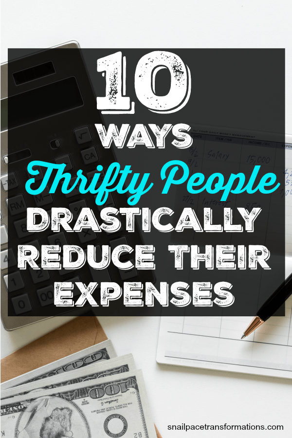 Stay in your budget with this list of ways to reduce your expenses. #savemoney #frugal