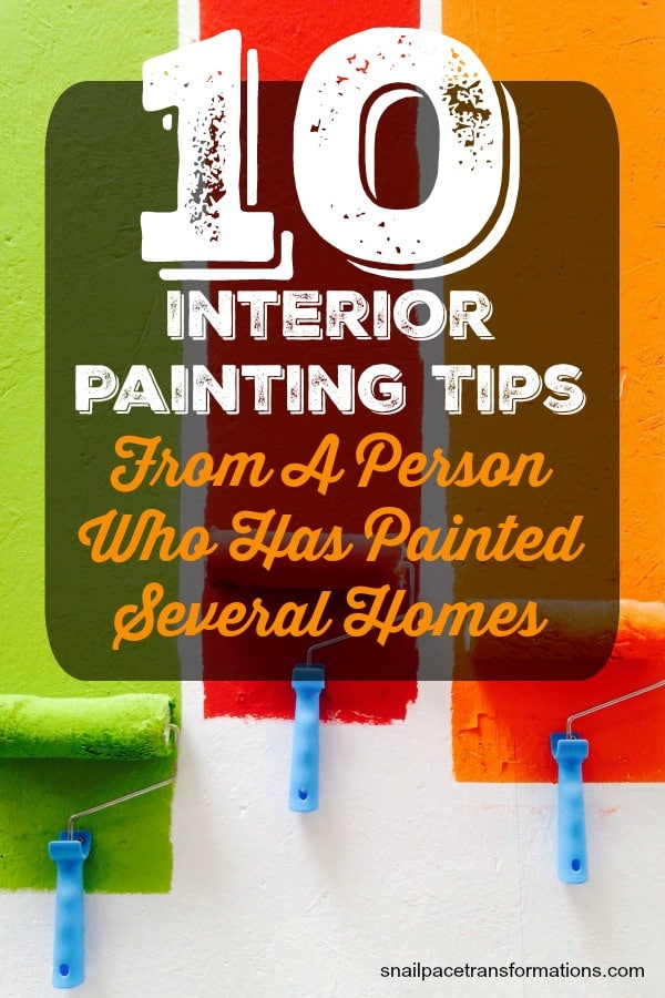 Need to paint the walls of your home? Here are 10 interior painting tips you are going to want to follow. #homedecor #painting