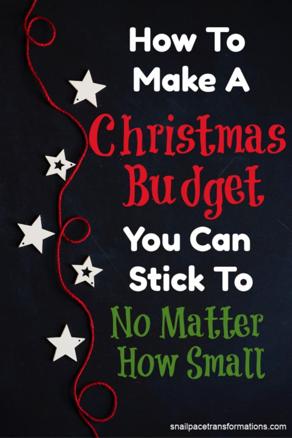 How to make a Christmas budget. #Christmas #Christmasbudget #Christmasgifts