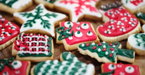 Bake Christmas treats you love too! Not just the favorites of those you love.
