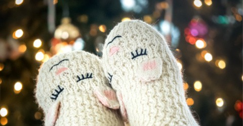 Got a mom with cold feet? Get her slipper socks for Christmas.