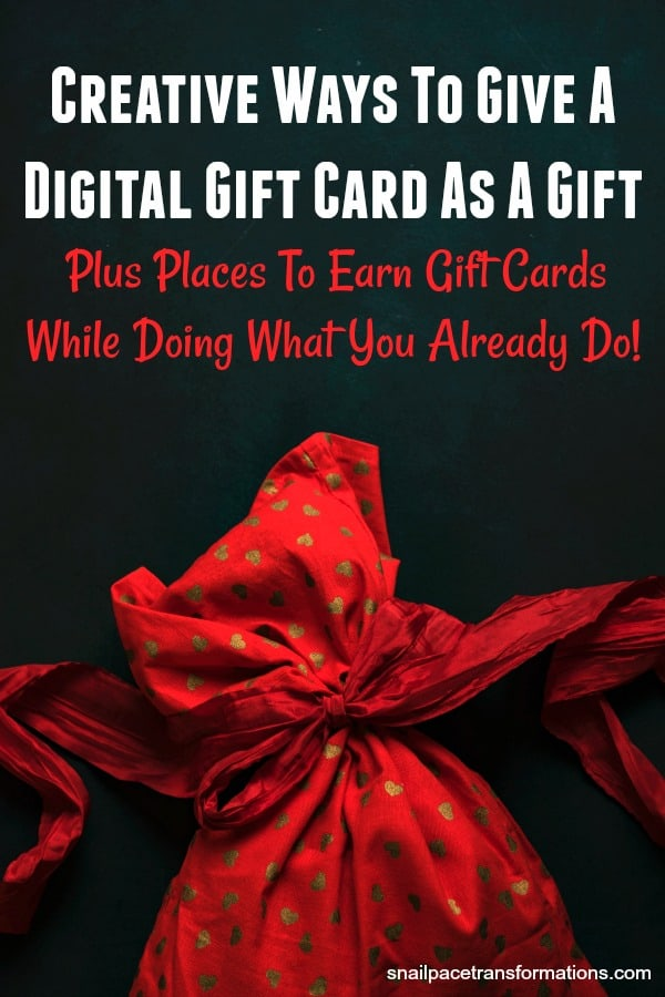 Use these creative tips to give a digital gift card a more personal touch. #giftcardholder #giftwrappingideas #christmas #christmasgiftideas