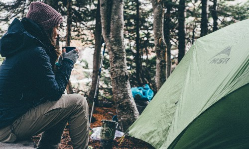 Thrifty people often camp and hike for frugal entertainment--so camping and hiking gear make excellent gifts.
