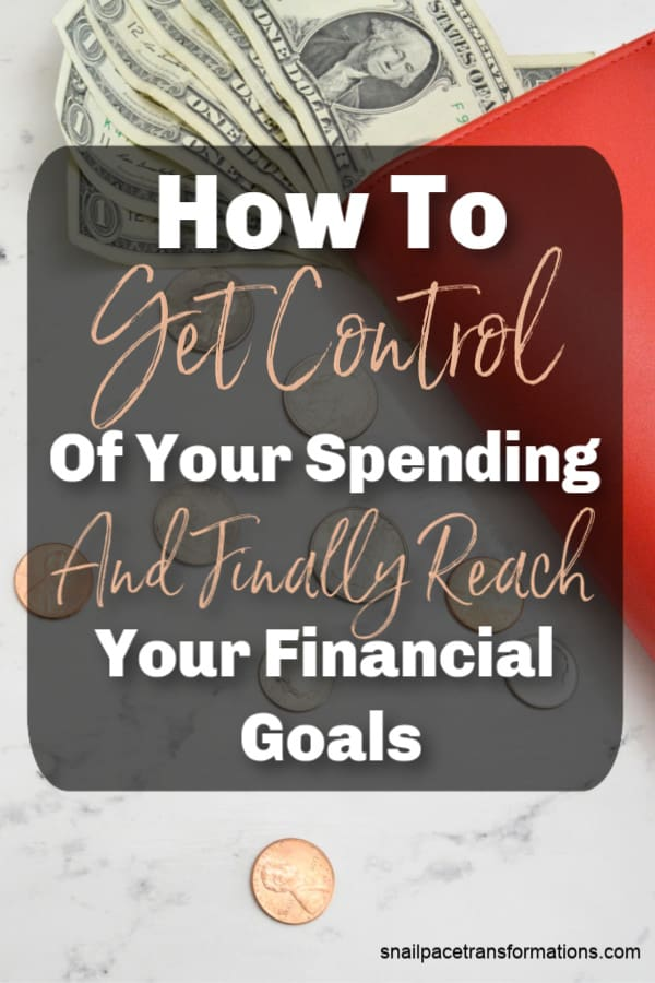 Stop spending money you don't have. Get control of your spending habits and finally meet your financial goals with these tips. #savemoney #moneymanagement #saveyourcash #savemoneytips