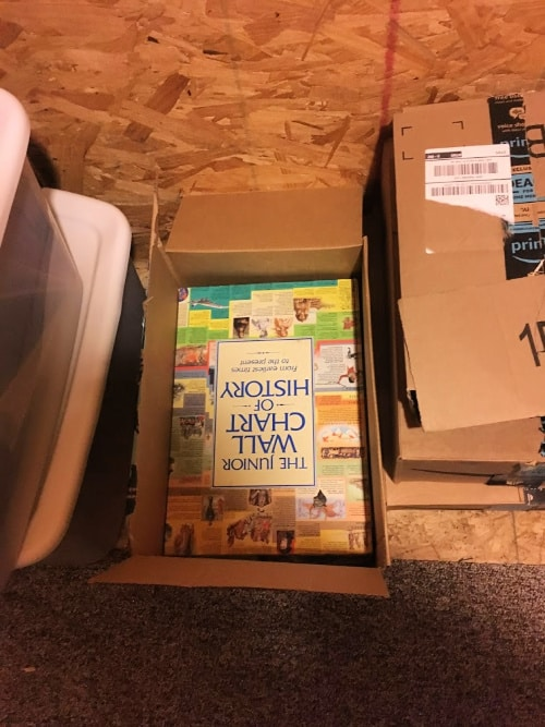 Month Two Of The 90/52 Decluttering Challenge: Books to give away