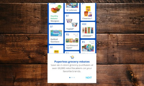 Earn money from your grocery receipts with SavingStar.