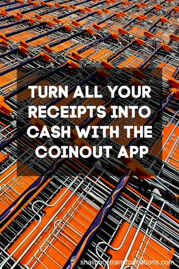 Use the CoinOut app to earn money from almost all types of receipts. #moneysavingtips #earnmoney #thriftyliving #frugalliving