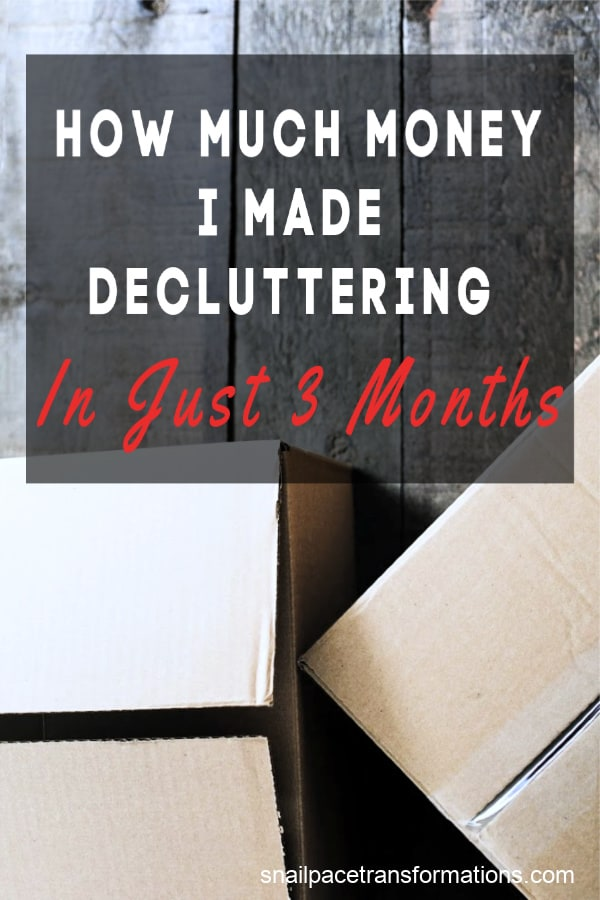 Need to declutter? Need money? Kill two birds with one stone and fuel your money needs with your clutter. #decluttering #decluttertips
