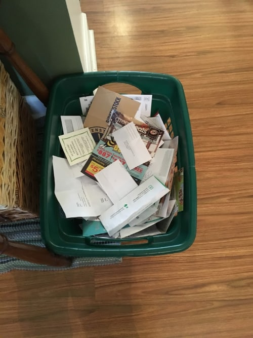 Month 4 Of The 90/52 Decluttering Challenge: The Dreaded Paper Avalanche
