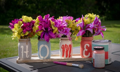 Work together to create with mom a craft for her home that she will enjoy for years to come this Mother's Day.