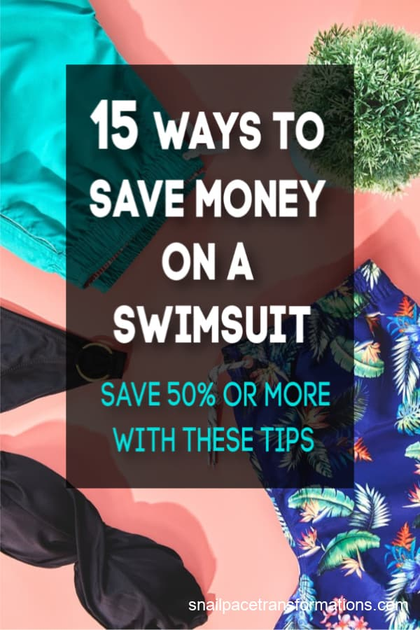Save money on a swimsuit with these tips! #swimsuit #savemoney