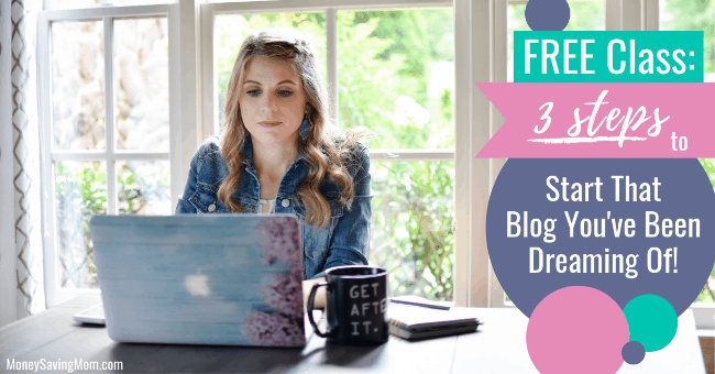 3 Steps to Start That Blog You've Been Dreaming Of!