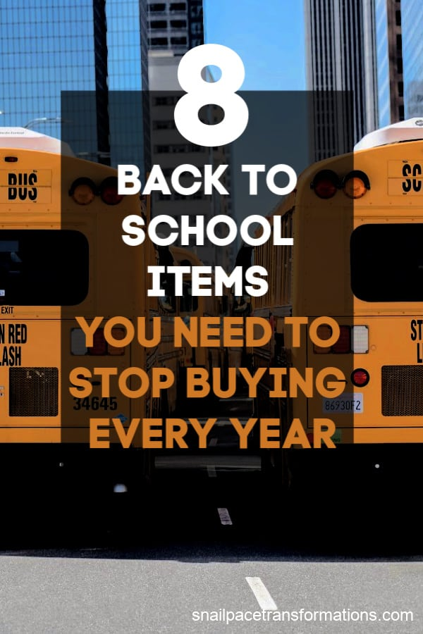 Stop wasting money on these 8 back to school items #backtoschoolsupplies #backtoschoolhacks