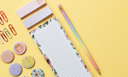 Cute stationery is not a needed back to school item and often a waste of money.
