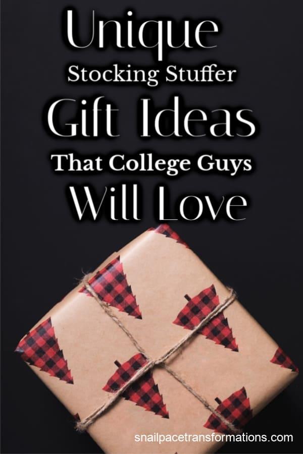Stocking Stuffer Gift Ideas For College Guys