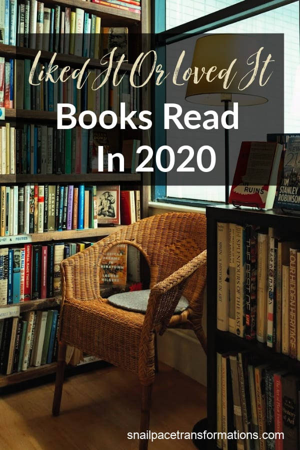 Liked it or Loved it: Books Read in 2020