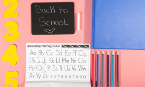 Have your kids pick out a few school supplies to make that first day of homeschooling feel special.