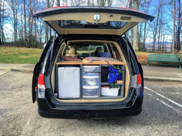 10 Essential Items For Building A Minivan Camper